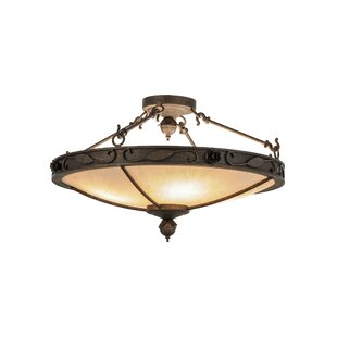 Arabesque 4-Light Semi-Flush M..