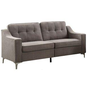 Shop Pitts Button Tufted Sofa by Orren Ellis