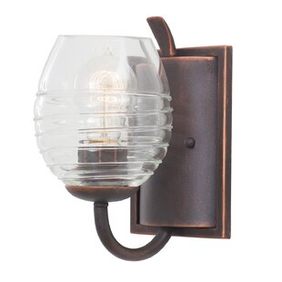 Seabrook 1-Light Bath Sconce by Kalco