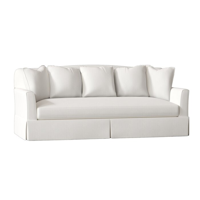 Pleasant Fairchild Slipcovered Sofa Download Free Architecture Designs Scobabritishbridgeorg