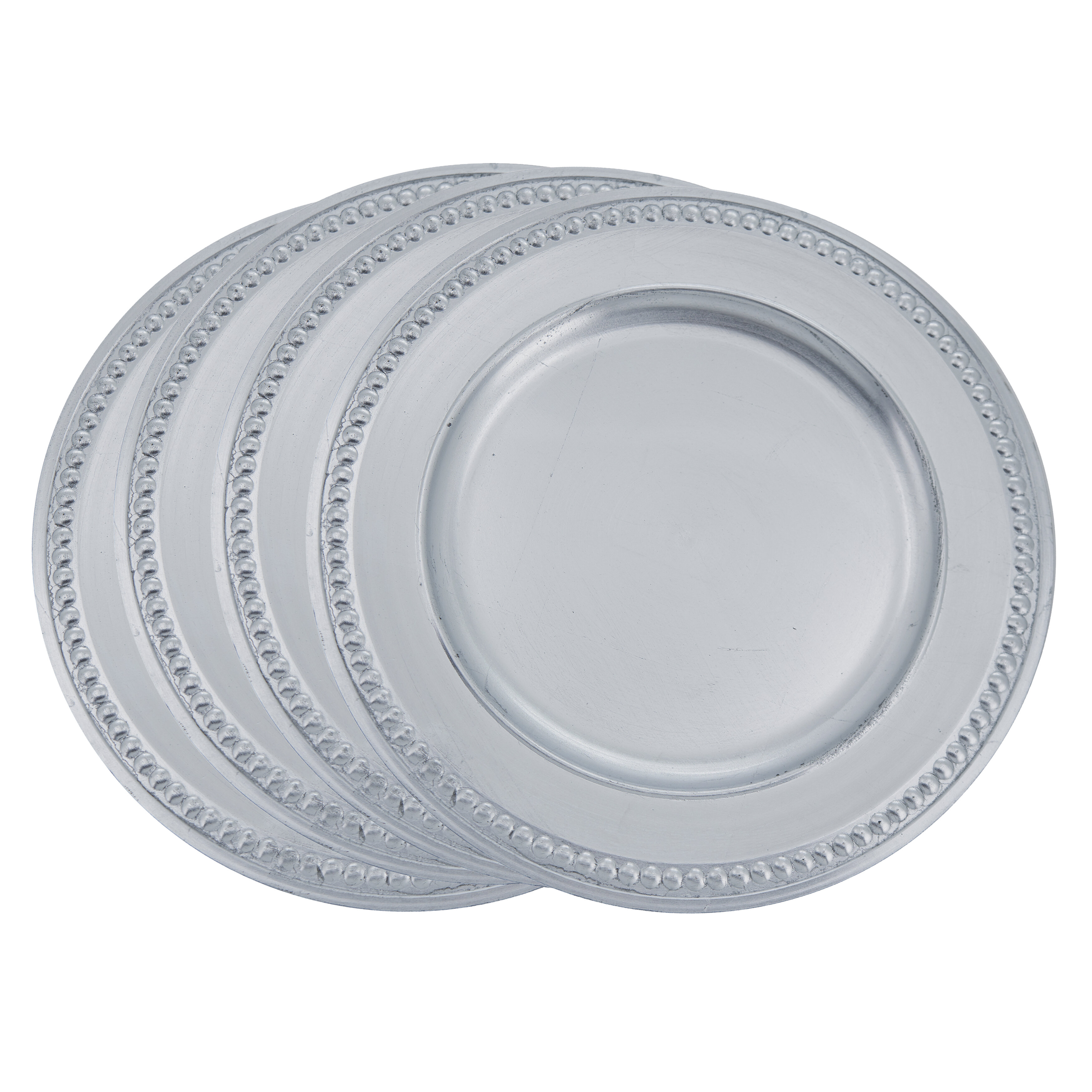 4.5 H x 15 W Unique decoration tableware White
