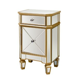 Where buy  Marleigh Mirrored End Table by Willa Arlo Interiors