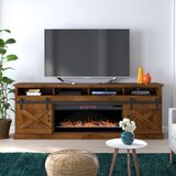 Clair TV Stand for TVs up to 88 with Electric Fireplace Included by Laurel Foundry Modern Farmhouse