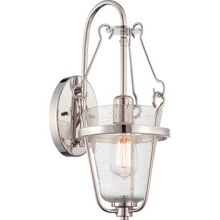Brilliant 1-Light Bath Sconce by Charlton Home