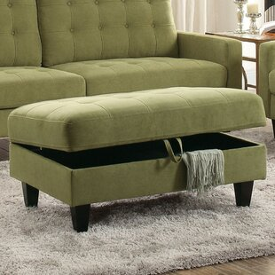 Riey Upholstered Button Tufted Storage Ottoman