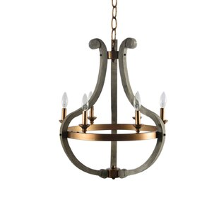 Gracie Oaks Merricks 6-Light Empire Chandelier