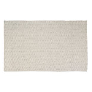 Great Price Coto Hand-Woven White Area Rug By Rosecliff Heights
