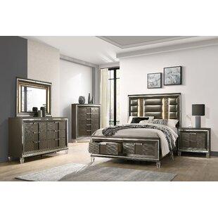 Gilmore Storage Platform 6 Piece Bedroom Set by Mercer41