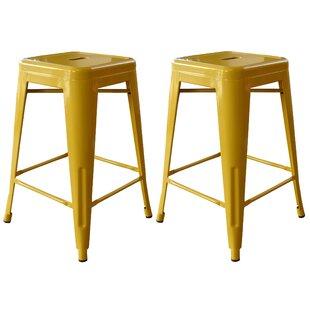 Racheal 24 Bar Stool (Set of 2) Trent Austin Design