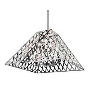 Brayden Studio Gorby 8-Light Geometric Chandelier