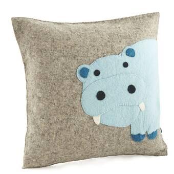 Alligator Be You Tiful Home Wool Felt Pillow Home Kitchen Throw Pillows