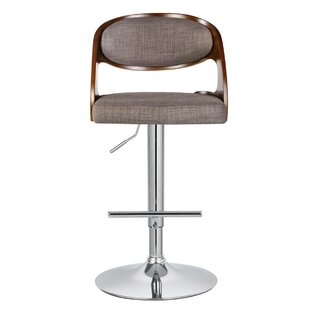 Adeline Adjustable Swivel Bar Stool by Turn on the Brights