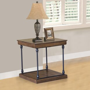 Burdett End Table by Williston Forge Best