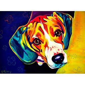 'Beagle Bailey' Framed Painting Print