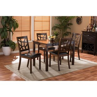 Delavega 5 Piece Dining Set