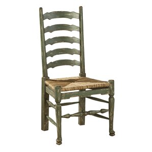 painted english country solid wood dining chair set of 2