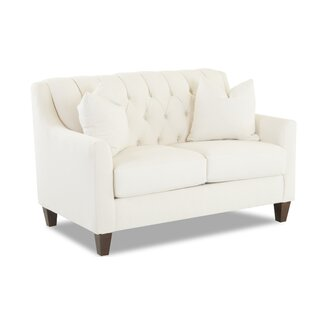 Compare prices Charity Loveseat by Wayfair Custom Upholstery™ Reviews (2019) & Buyer's Guide