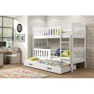 Maliyah Bunk Bed With Drawer And Trundle By Harriet Bee