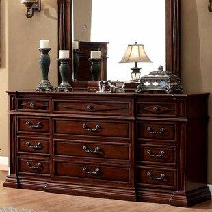 Connellsville Style 12 Drawer Dresser by Fleur De Lis Living