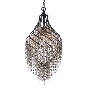 Rosdorf Park Dede 1-Light Crystal Pendant