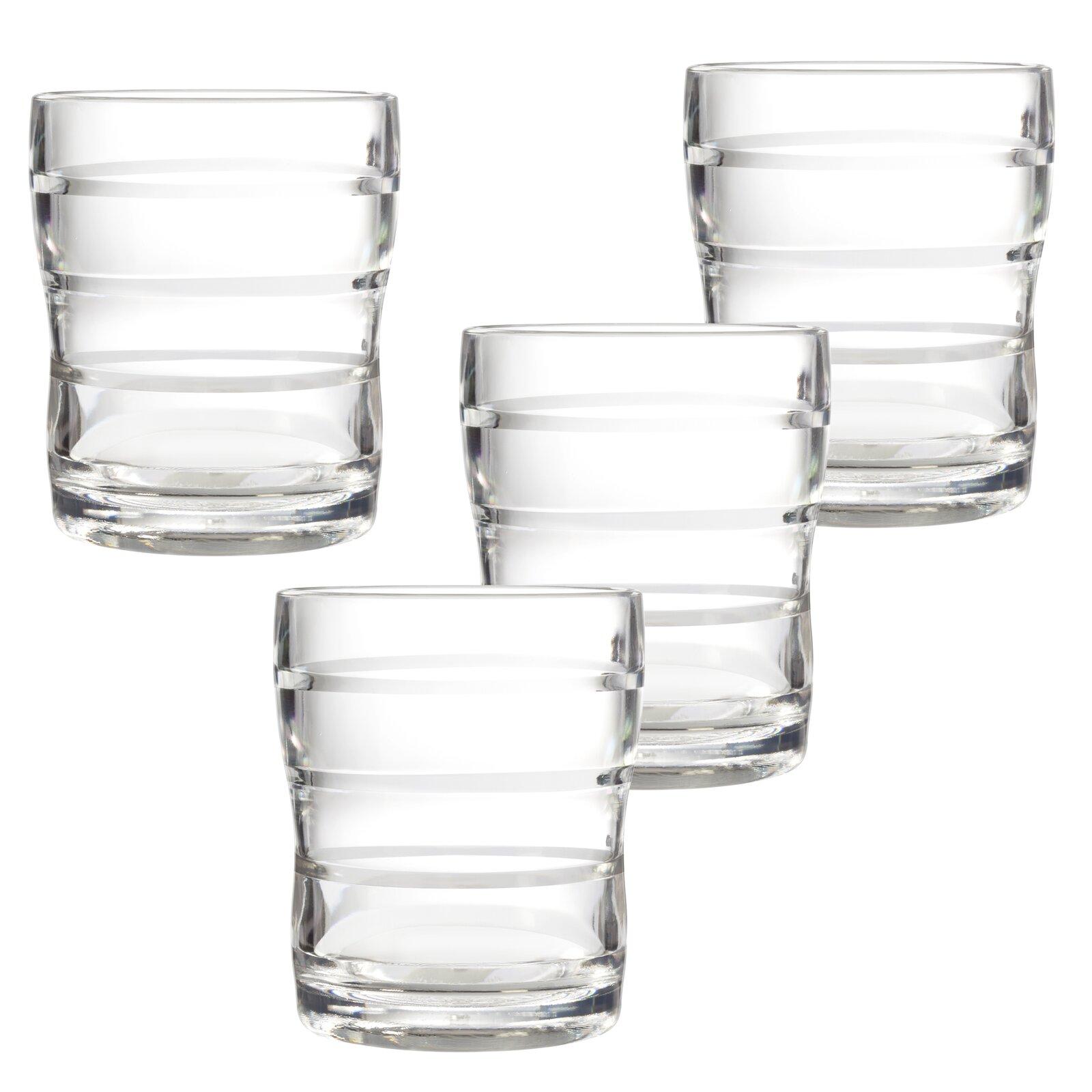 Set of 4 Winston Porter Michigan 13 oz. Acrylic Drinking Glass