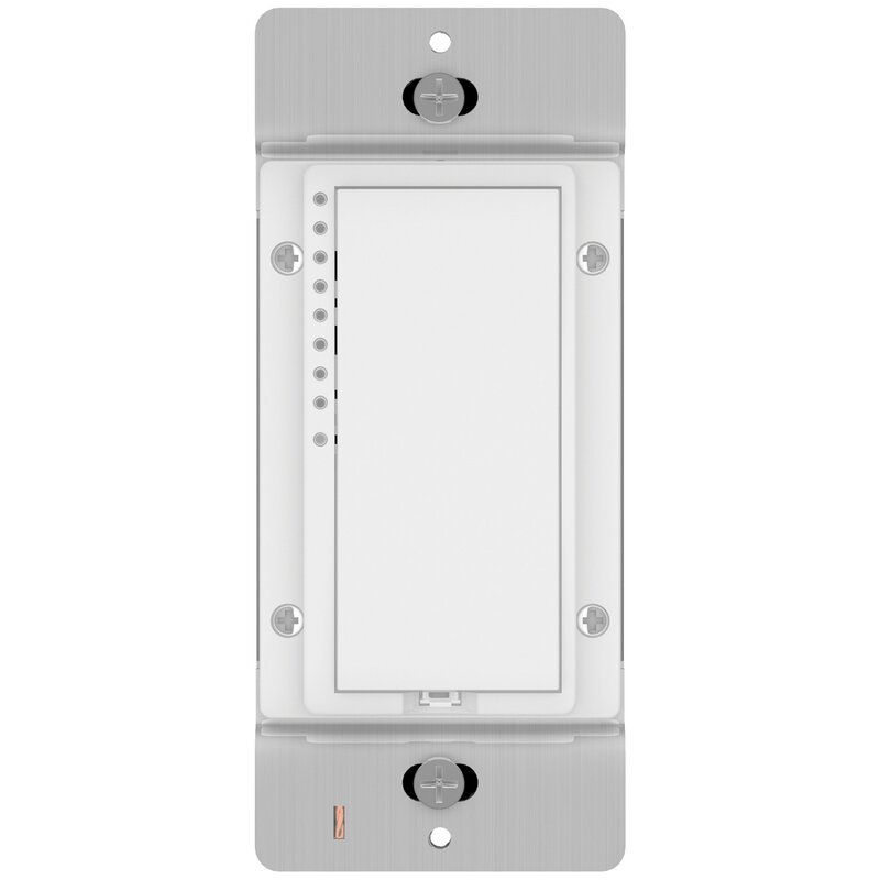 Switch Single Pole Dimmer Color: White