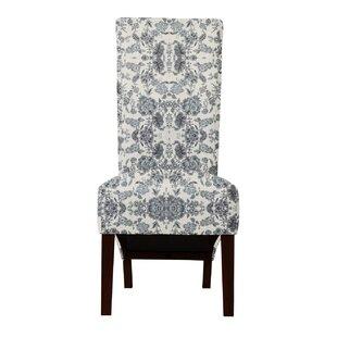 Langley Street Ramon Magic Fabric Parsons Chair (Set of 2)