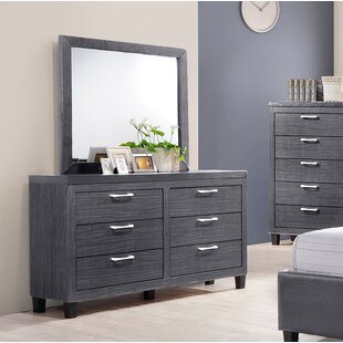 Thais 6 Drawer Double Dresser