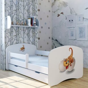 Dino Boo Bed With Mattress And Drawer By Zoomie Kids