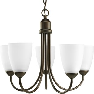 Red Barrel Studio Charlottesville 5-Light Shaded Chandelier