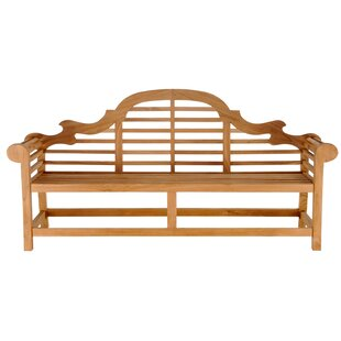 Passarelli Teak Garden Bench by Bloomsbury Market Savings