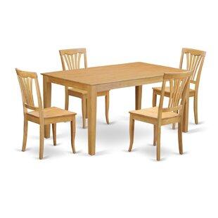Wooden Importers Capri 5 Piece Dining Set