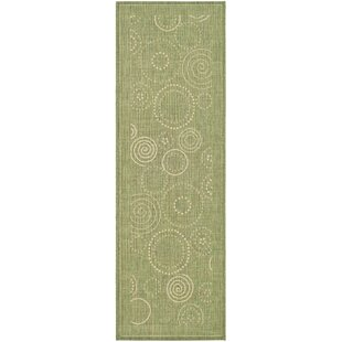Mullen Olive Indoor/Outdoor Area Rug