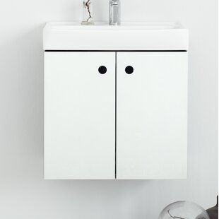 Palmdale 500mm Wall Mount Single Vanity Unit By 17 Stories