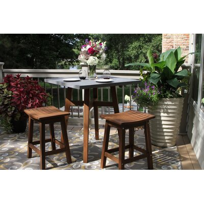 Jeffers 3 Piece Bistro Set by Alcott Hill Best Design