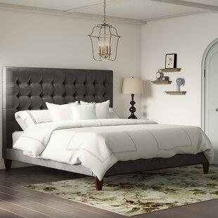 Randy Upholstered Platform Bed by Brayden Studio