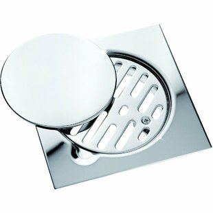 AGM Home Store Steel Floor Removable Cover Grid Shower Drain