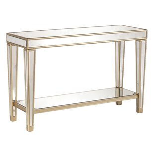 Shop for Paulornette Mirrored Console Table By House of Hampton