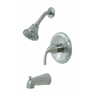 Oakbrook Collection Volume Control Tub and Shower Faucet
