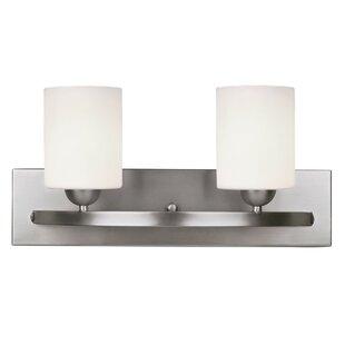 Reviews Mcniel Modern 2-Light Vanity Light By Mercury Row