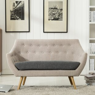 Westford Dual Tone Tufted Loveseat