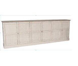 Luciana Wood 6 Door Accent Cabinet by Sarreid Ltd