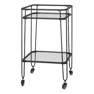 Gainey Serving Cart By Mercury Row