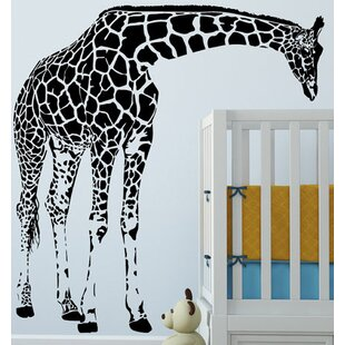 Giraffe Animal Nursery Wall Sticker