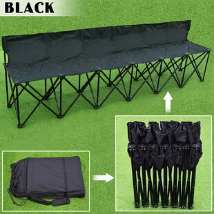 Wolsingham Sideline Sports Folding Camping Bench