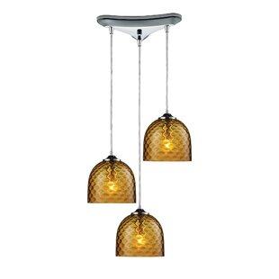Everson 3-Light Pendant by Bra..