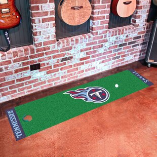 NFL Tennessee Titans Putting Green Mat By FANMATS