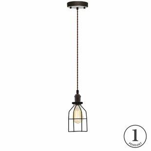Williston Forge Shiloh 1-Light Lantern Pendant