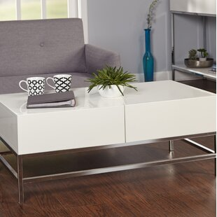 Orren Ellis Woodway Coffee Table with Storage