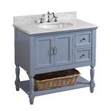 new product 83aa5 f9976 Kendall Blue Vanity | Wayfair